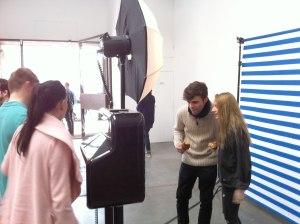 Alumnos diseño de L'Idem Barcelona en Creative Mornings La PERDIZ Magazine